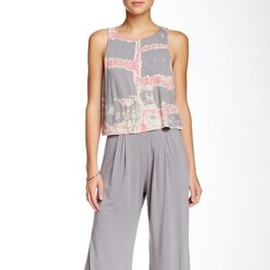 Gypsy05 Open Back Popover Jumpsuit